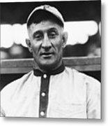 Baseball Player Honus Wagner Metal Print