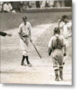 Baseball Star Joe Dimaggio Metal Print