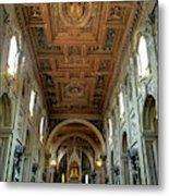 Basilica Di San Giovanni In Laterano Metal Print