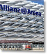 Allianz Arena Bayern Munich  Metal Print