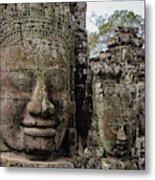 Bayon Faces, Angkor Wat, Cambodia Metal Print