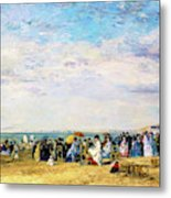 Beach Of Trouville - Digital Remastered Edition Metal Print