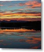 Bear River Sunset Metal Print