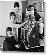 Beatles In Vegas Metal Print