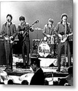 Beatles Perform In Washington, D.c Metal Print