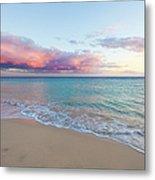 Beautiful Seascape, Beach And Ocean At Metal Print