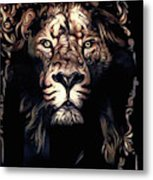 Beauty's Beast Metal Print
