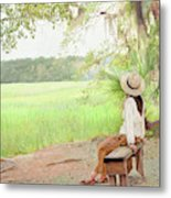 Being In Your Own Company Metal Print