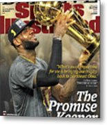 Believe The Promise Keeper Sports Illustrated Cover Metal Print