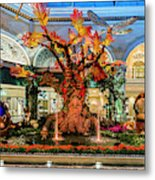 Bellagio Enchanted Talking Tree Ultra Wide 2018 2 To 1 Aspect Ratio Metal Print