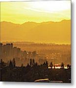 Bellevue Eastside Morning Light Atmosphere Metal Print