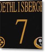 Ben Roethlisberger Jersey Metal Print