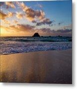 Bermuda Beach Sunrise Metal Print