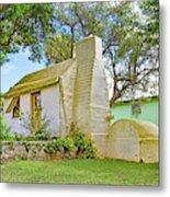 Bermuda Botanical Gardens Cottage Metal Print