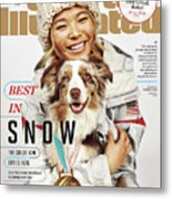 Best In Snow The Chloe Kim Era Is Here Sports Illustrated Cover Metal Print