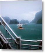 Bhaya Cruise Line Ha Long Bay  Metal Print