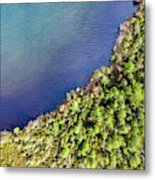 Big Bay Bear Lake Aerial Metal Print