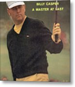 Billy Casper, 1970 Masters Sports Illustrated Cover Metal Print
