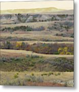 Black Butte September Reverie Metal Print