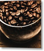 Black Coffee, No Sugar Metal Print