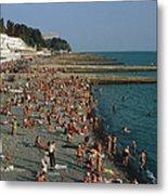 Black Sea Coast Metal Print