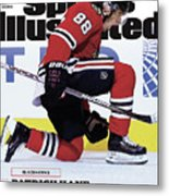 Blackhawks Patrick Kane The Nehls Best Player Has Arrived - Sports Illustrated Cover Metal Print
