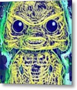 Creature From The Black Lagoon Pop Metal Print