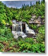 Blackwater Falls, Blackwater Falls State Park, West Virginia Metal Print