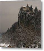 Bled Castle Metal Print
