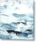 Blue #11 Metal Print