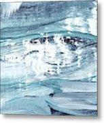 Blue #12 Metal Print