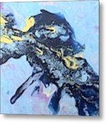 Blue Abstract #3 Metal Print