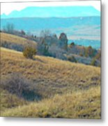 Blue Butte Prairie Reverie Metal Print