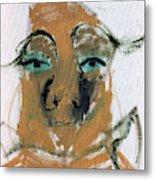 Blue Eyed Man Metal Print
