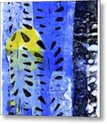 Blue Garden 1 Metal Print