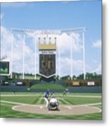 Blue Jays V Royals Metal Print