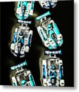 Blue Racers Metal Print