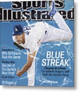 Blue Streak, 2013 Mlb Baseball Preview Issue Sports Illustrated Cover Metal Print