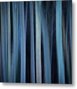 Blue Trees 1 Metal Print