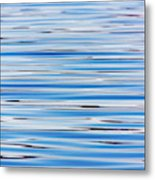Blue Water Abstract 8621 Metal Print