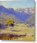 Bluffs Of The Capertee Valley Metal Print