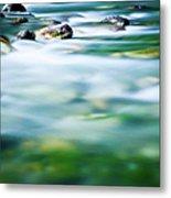 Blurred River Metal Print
