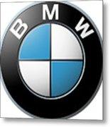 Bmw Emblem Metal Print