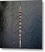 Boat Race Metal Print