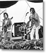 Bob Dylan & Neil Young Performing At Metal Print