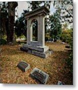 Bonaventrue Headstone Metal Print