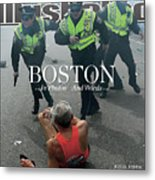 Boston Bombing Sports Illustrated Cover Metal Print