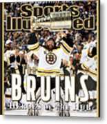 Boston Bruins, 2011 Nhl Stanley Cup Champions Sports Illustrated Cover Metal Print