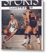 Boston Celtics Bob Cousy... Sports Illustrated Cover Metal Print