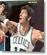 Boston Celtics John Havlicek Sports Illustrated Cover Metal Print